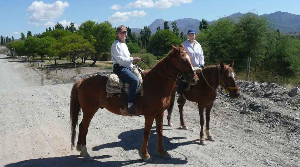 Finca Huayrapuaca: Argentinien-Urlaub indiviuell mit Fritz Mohr und Susanne Treutlein