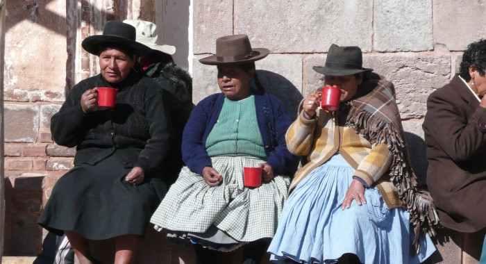 Brasilien, Bolivien, Peru und Chile