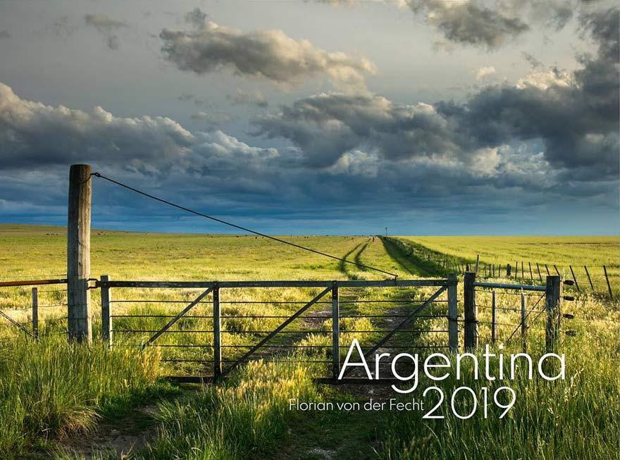 Gewinnen Sie den tollen Kalender Argentina 2019 von Florian von der Fecht!